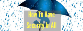 Creating Security in Life