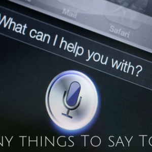 funny things to say to Siri