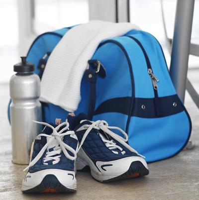 Gym bag makeover