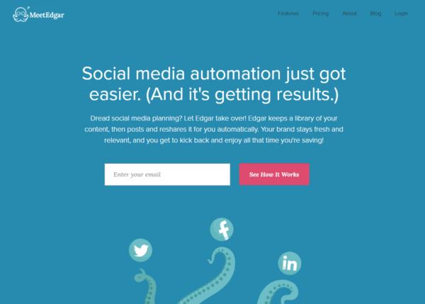 Automate Social Media Posts MeetEdgar