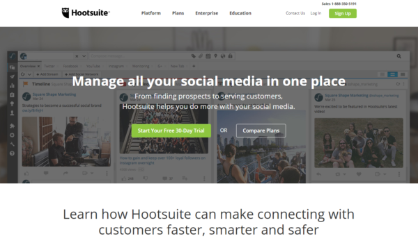 Automate Social Media Posts hootsuite