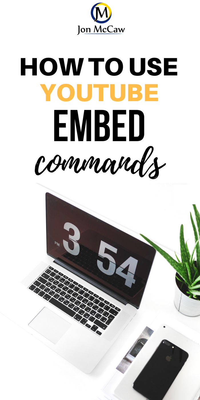YouTube Embed Commands