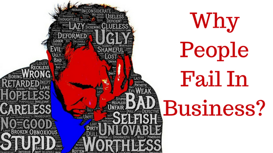 2 Reasons Why People Fail in Home Business