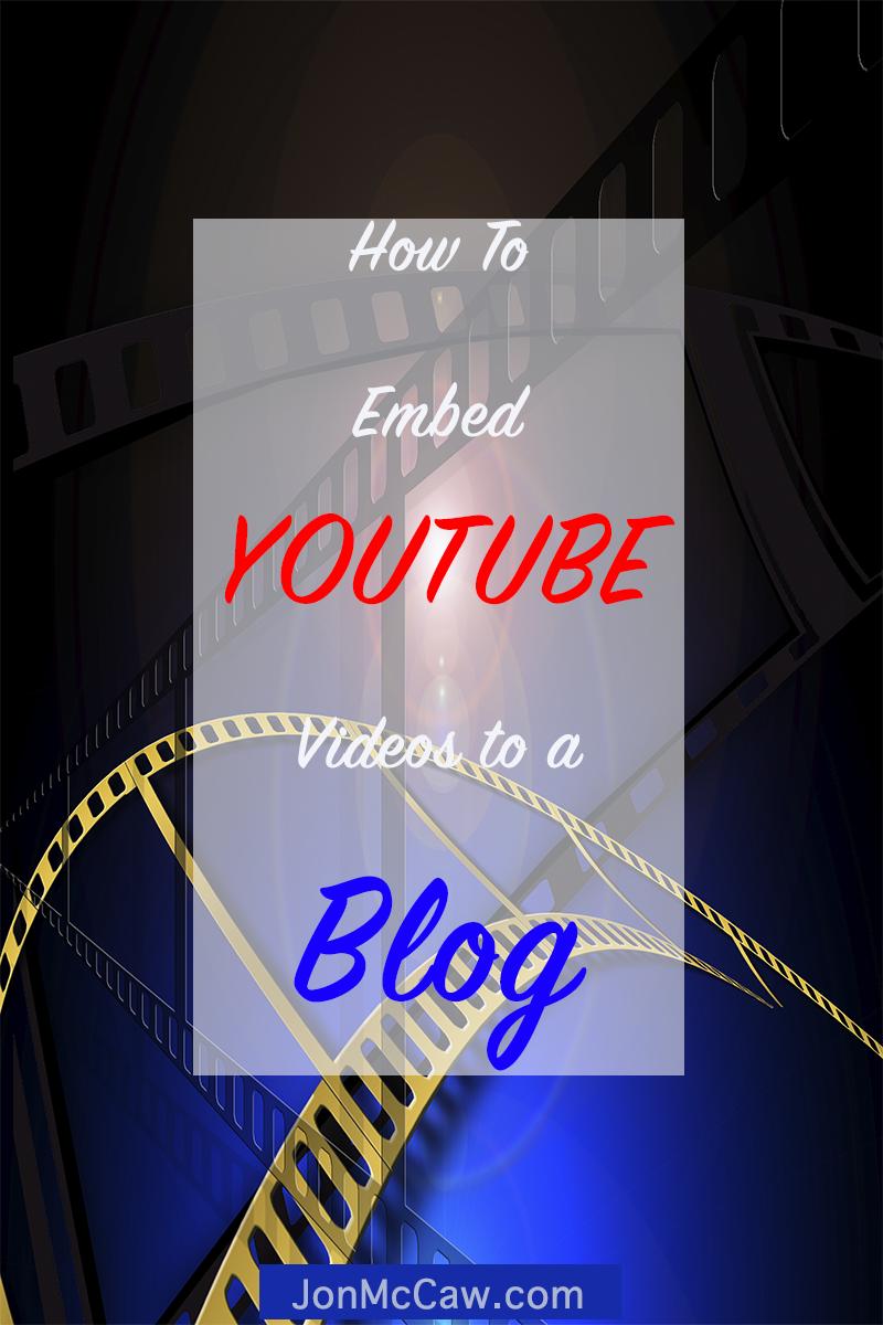 youtube embed codes