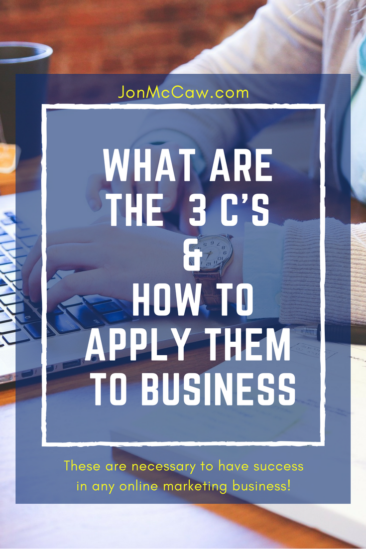 3 C's of Marketing