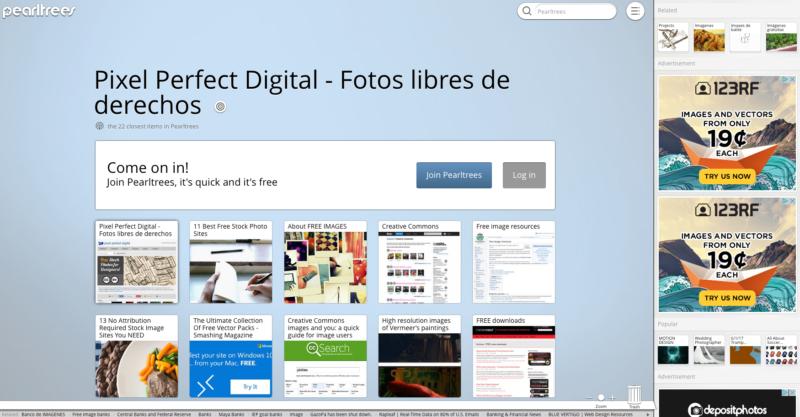 Free image website resources - Pixel Perfect Digital