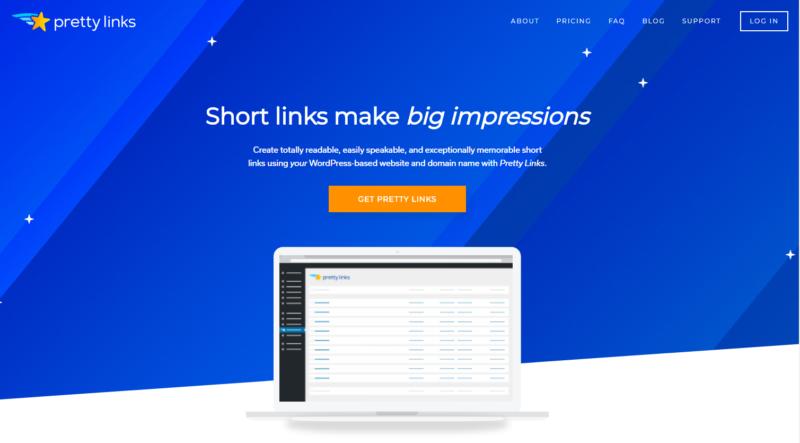 Plugins For WordPress - Pretty links
