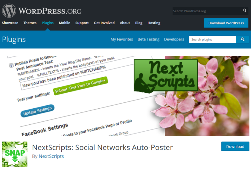 Plugins For WordPress - SNAP
