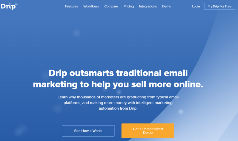 Plugins For WordPress - email marketing by drip