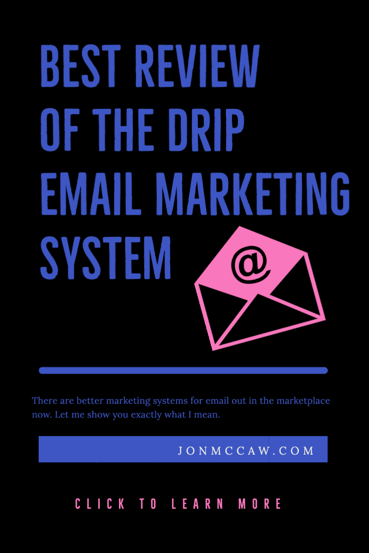 best review of the drip email marketing system